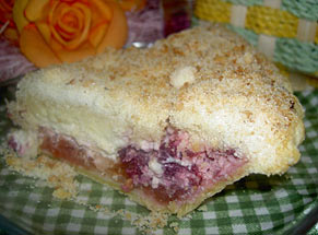 Bodhaine Ranch Raspberry Apple Cream Cheese Pie